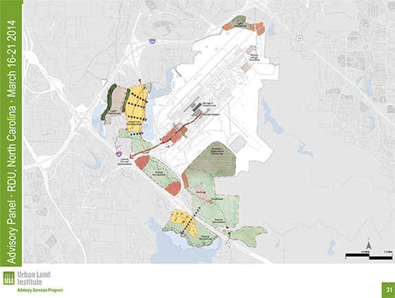 ULI plan for high-performance districts by RDU airport